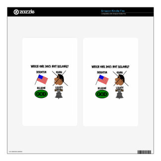 WHICH ONE DOES NOT BELONG png Kindle Fire Skins