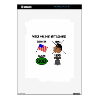 WHICH ONE DOES NOT BELONG png Skins For iPad 2