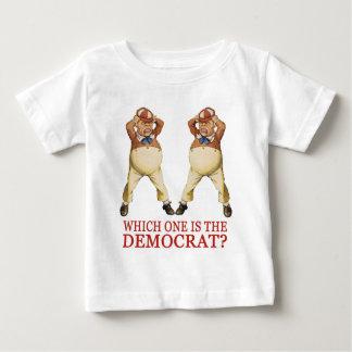 WHICH ONE IS THE DEMOCRAT -  TWEEDLE DEE OR DUM? BABY T-Shirt