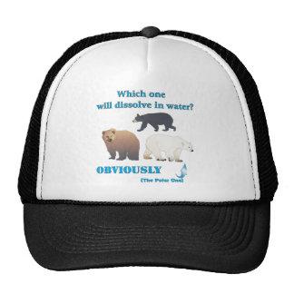 Which one will dissolve in water Polar Chemistry Trucker Hat
