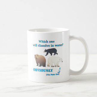 Which one will dissolve in water Polar Chemistry Mug
