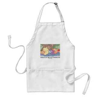 Which Plate Are You Standing On? (Plate Tectonics) Adult Apron