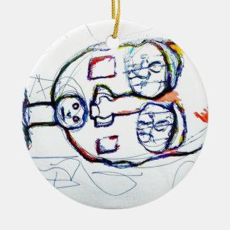 Which Prison Which Silence Ceramic Ornament