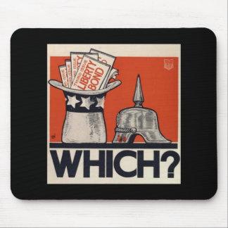 Which? Retro Liberty Bond WW1 Vintage Mouse Pad