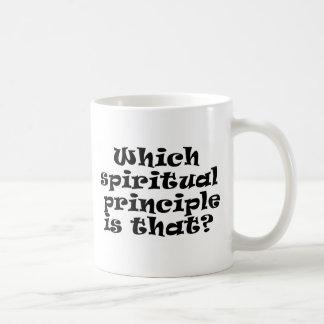 which spiritual principle coffee mug