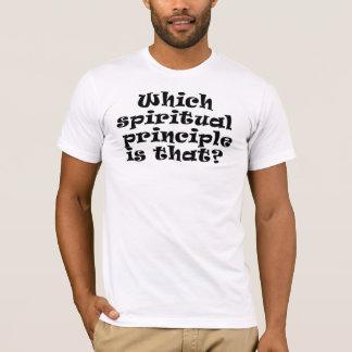 Which Spiritual Principle T-Shirt
