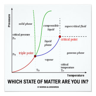 Which State Of Matter Are You In? (Chemistry) Card