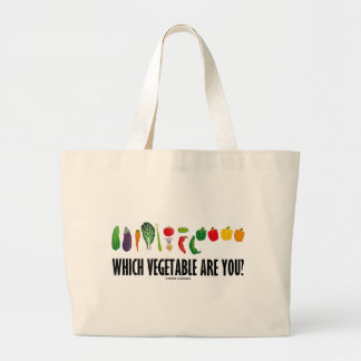 Which Vegetable Are You? (Vegetarian Humor) Bag