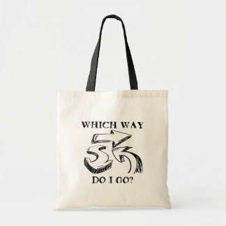 WHICH WAY? CANVAS BAGS