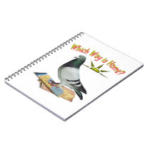 Which Way is Home? Pigeon Art Notebook