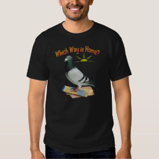Which Way is Home? Pigeon Art T Shirt