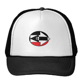 WHICH WAY IS LIFE? TRUCKER HAT
