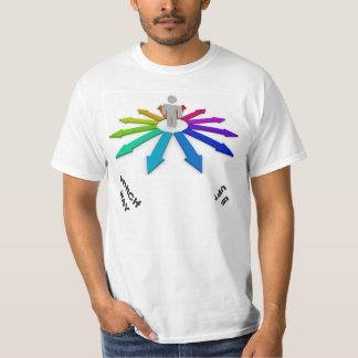 WHICH WAY IS UP? T SHIRT