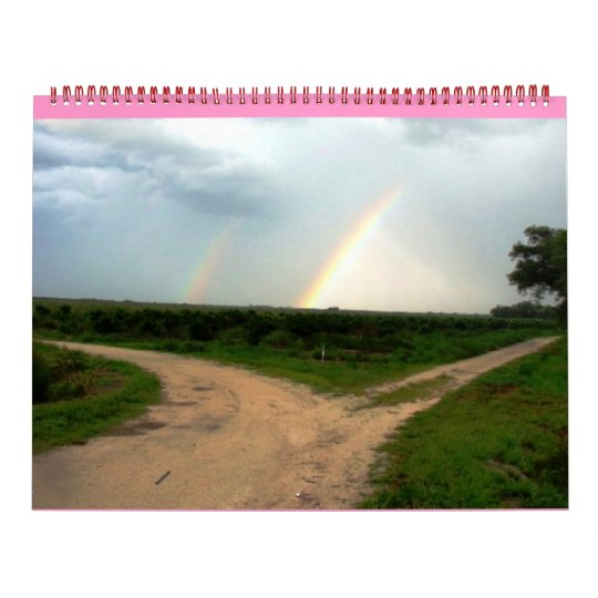 WHICH WAY NOW, DOUBLE RAINBOW at DOUBLE CROSSROAD Calendar