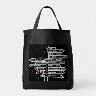 Which Way? Tote Bags