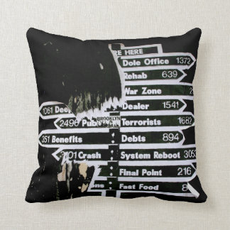 Which Way You Goin? Throw Pillow