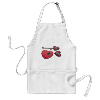 WhichHeartUnlock071611 Adult Apron