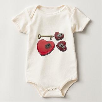 WhichHeartUnlock071611 Baby Bodysuit