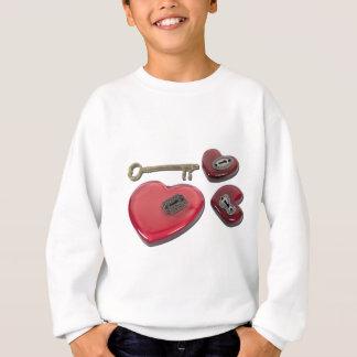 WhichHeartUnlock071611 Sweatshirt
