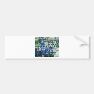 Whichwayville Car Bumper Sticker