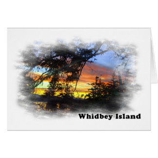 Whidbey Island scenery Cards