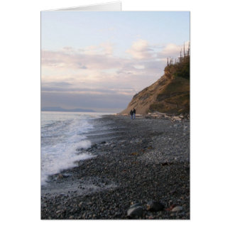 Whidbey Island Sunset Card