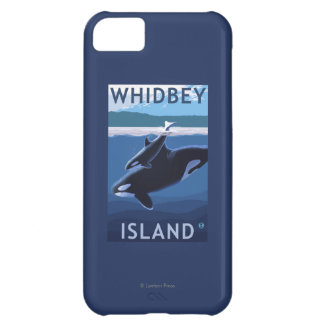 Whidbey Island, WashingtonOrca and Calf Case For iPhone 5C