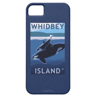 Whidbey Island, WashingtonOrca and Calf iPhone SE/5/5s Case