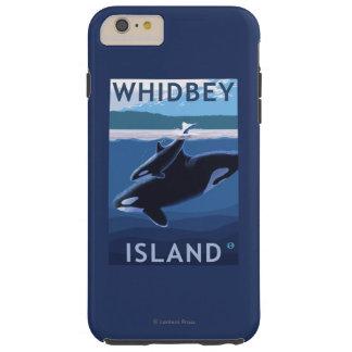 Whidbey Island, WashingtonOrca and Calf Tough iPhone 6 Plus Case