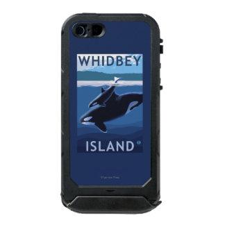 Whidbey Island, WashingtonOrca and Calf Waterproof iPhone SE/5/5s Case