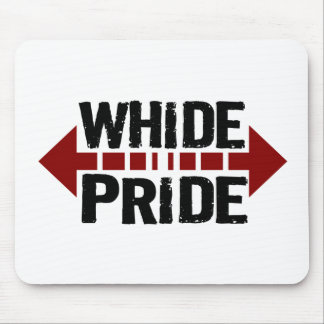 Whide Pride - For Big Boys n Girls Mouse Pad