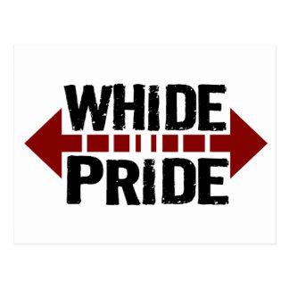 Whide Pride - For Big Boys n' Girls Postcard