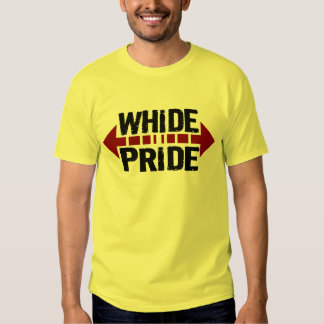 WhiDe Pride - Wide Pride for Chubby Fatties T-shirts