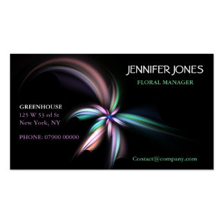 Whiff Fractal Art, Business Card