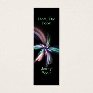 Whiff - Fractal Art, Skinny Card Bookmark