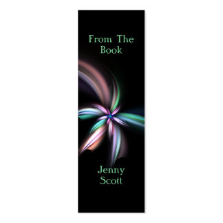 Whiff - Fractal Art, Skinny Card Bookmark Pack Of Skinny Business Cards