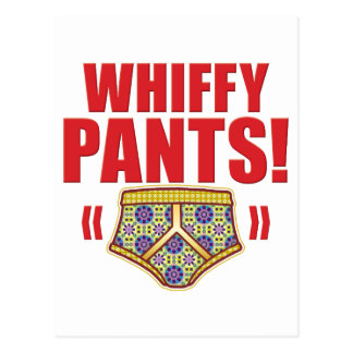 Whiffy Pants Flowery Post Cards
