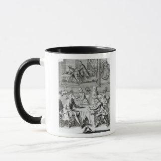 Whig Satire on Negotiations Mug