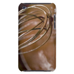 Whig the chocolate in a saucepan to melt the iPod Case-Mate case