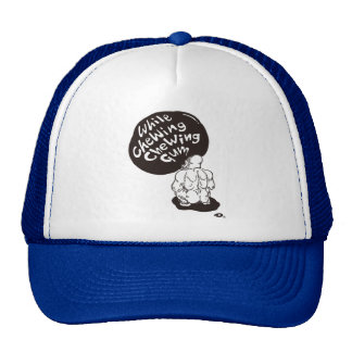 while chewing chewing gum GOLILA Trucker Hat