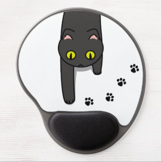 < While (clo) cat passing > The cat passing Gel Mouse Pad
