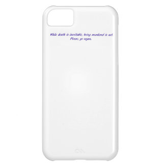 While death is inevitable... case for iPhone 5C