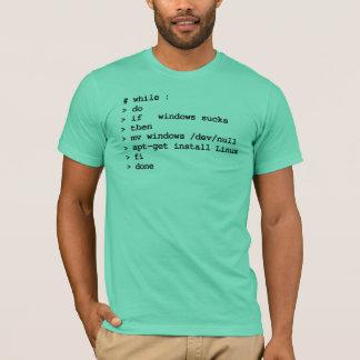 while : do (apparel) T-Shirt