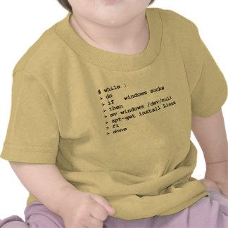 while : do (apparel) shirt