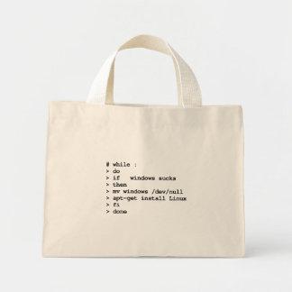 while : do (tote bag)
