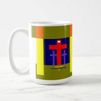 """While We Were Yet Sinners"" Classic White Coffee Mug"