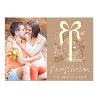 Whimiscal Christmas Gift | Holiday Photo Card