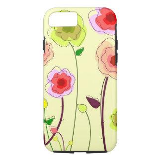 Whimiscal florece la caja del iPhone 7 Funda iPhone 7