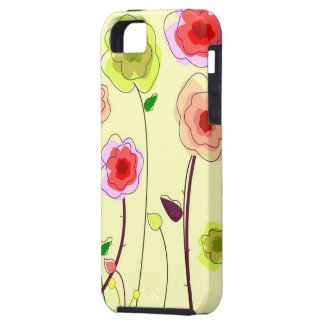 Whimiscal Flowers Case For iPhone 5/5S
