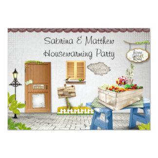 Whimiscal Garden Housewarming Party Invitation
